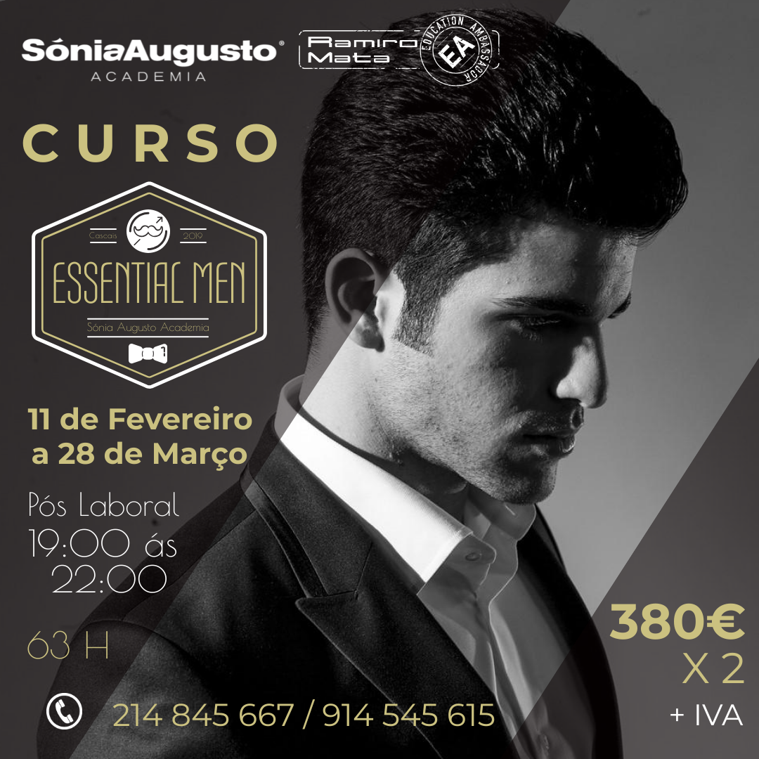 CURSO_essential men 2019